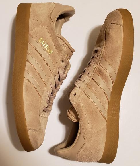 Men's Adidas Gazelle Clay Brown / Gum Sneakers